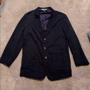Tommy Bahama Button Down Casual Blazer in Black